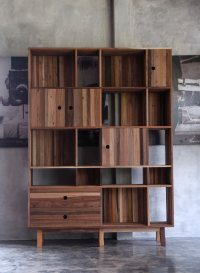 Modern Furniture Made from a Mix of Reclaimed Woods ...