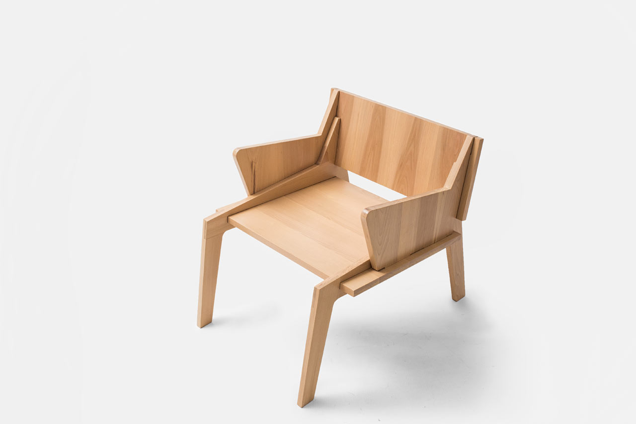 handmade wooden chairs folding chair parts manufacturer furniture by collaptes design milk