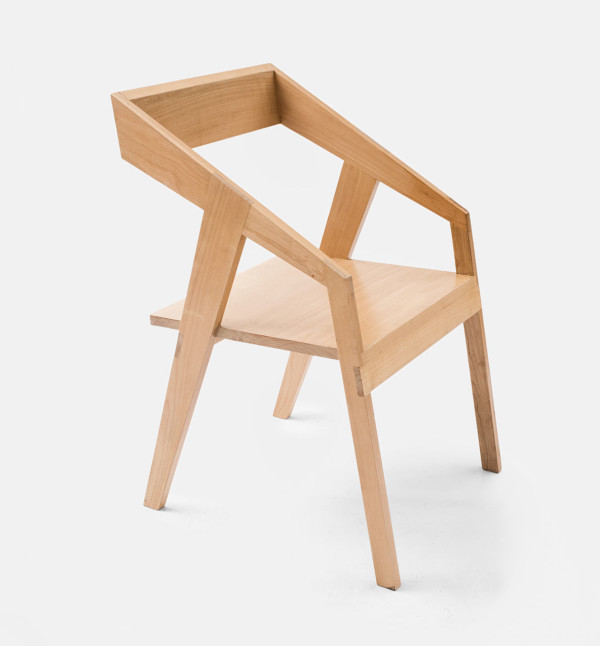 handmade wooden chairs chair plus stool furniture by collaptes design milk cyntia briano 5