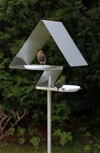 Birdhouses and Bird Baths from OPOSSUM design - Design Milk