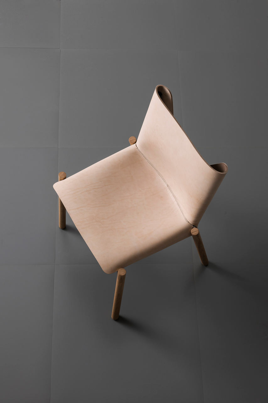 Leather And Wood Chair Kristalia Leather And Wood Chair Design Milk