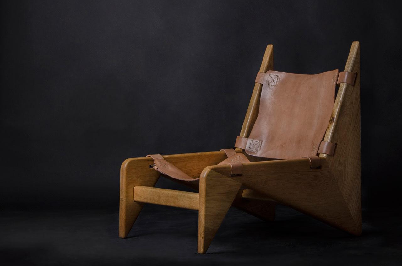 Making a Scandinavian Wood + Leather Chair