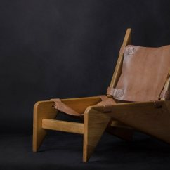 Wood And Leather Chair Brown Ebay Making A Scandinavian 43 Design Milk