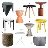 Roundup: 10 Modern Side Tables - Design Milk
