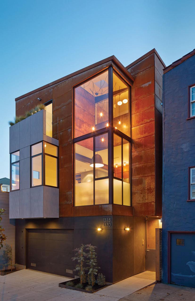 Modern Urban House : modern, urban, house, Urban, Homes, Francisco