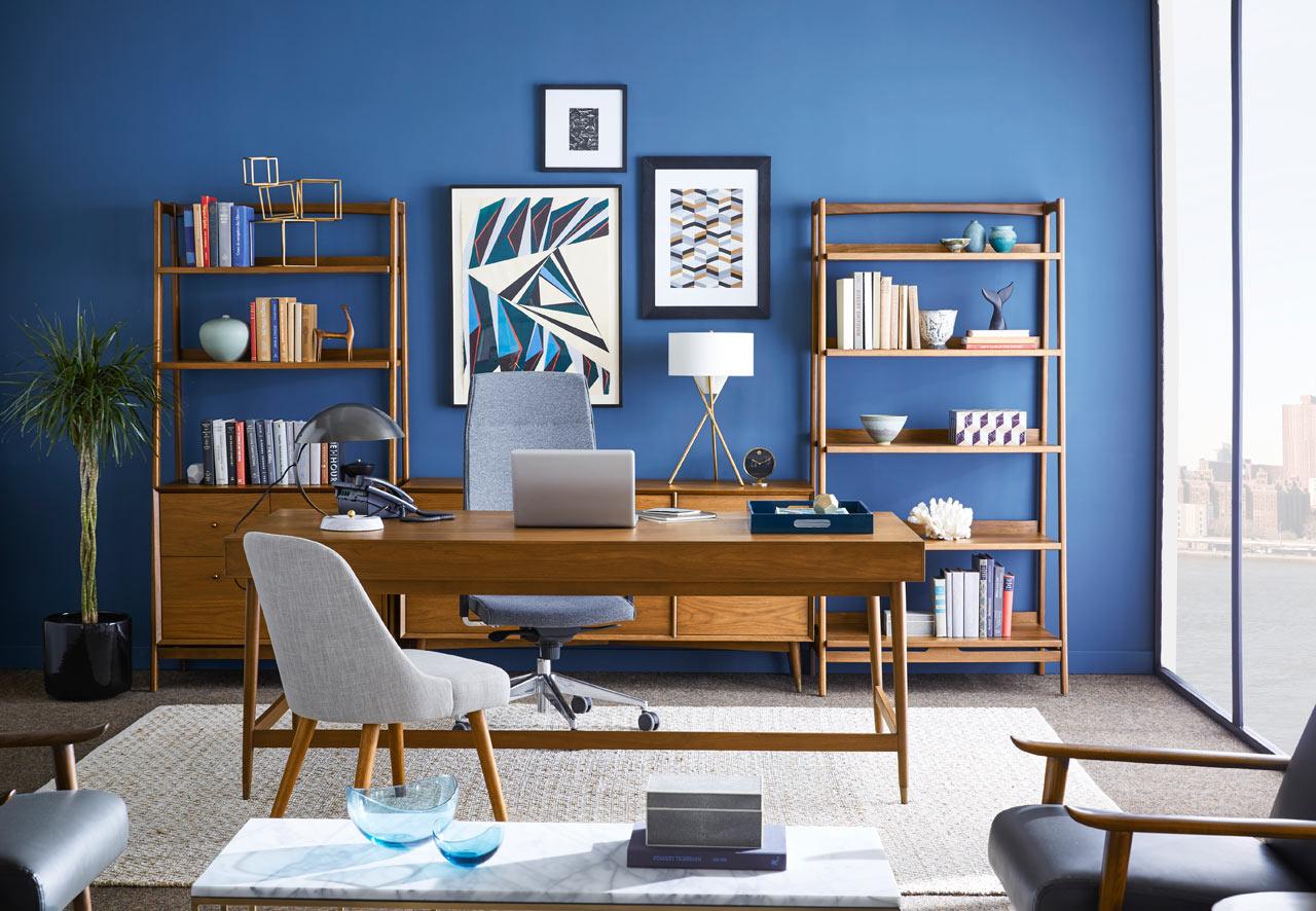 Best Kitchen Gallery: West Elm Workspace Office Furniture Design Milk of Interior Design Workspace  on rachelxblog.com