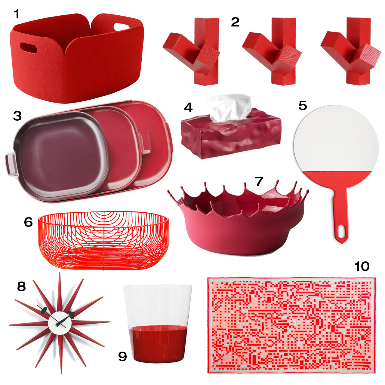 10 Red Objects You Ll Fall In Love With