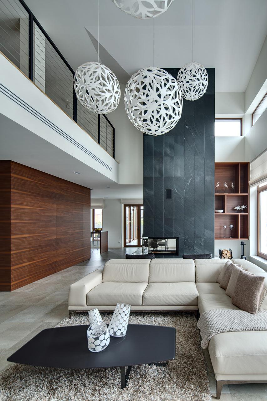 Spacious Home with a Warm Interior in Kiev - Design Milk