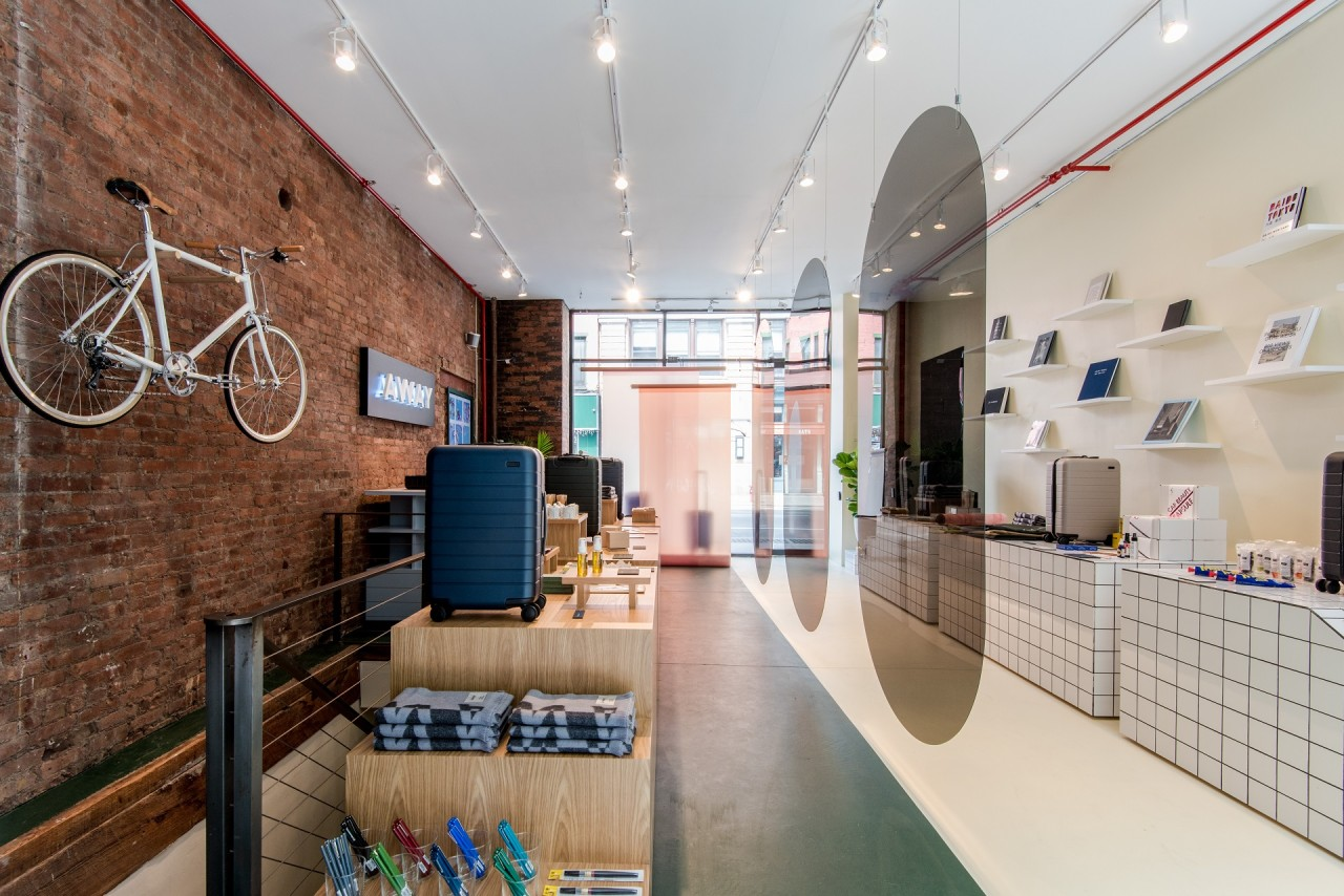 Away Opens A Concept Store Highlighting Global Destinations Design