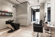 minimalist hair salon in sseldorf