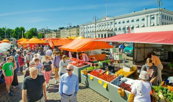 Open Air Market, Helsinki