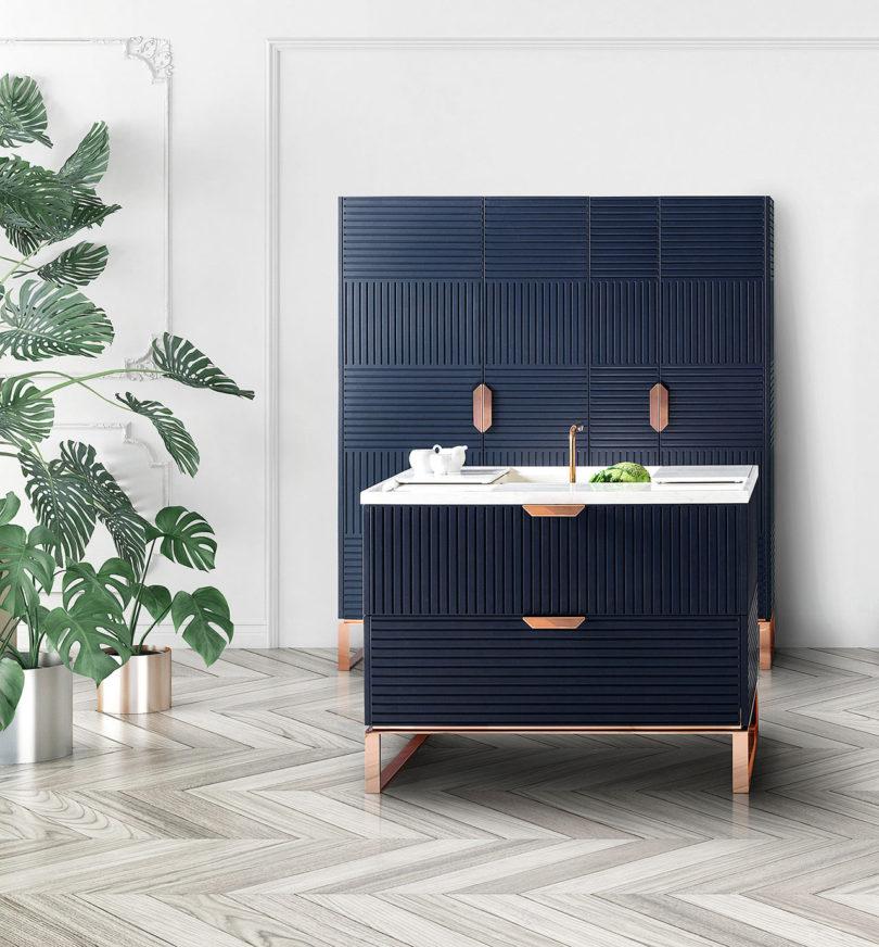 free standing kitchens walnut kitchen table miuccia an elegant freestanding design milk tm italia 4
