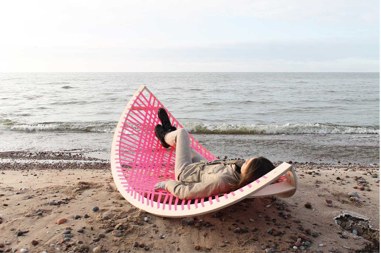 Banana Rocker Chair Panama Banana A Quirky Rocking Outdoor Hammock Design Milk