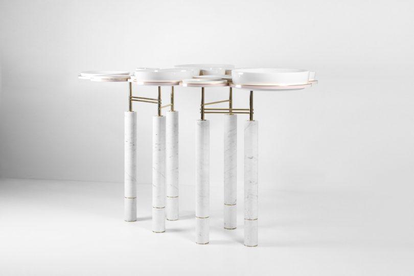 SAYAR&GARIBEH's Modern Spin on a Dining Table
