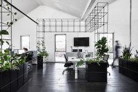 Candlefox HQ: A Graphic, Black and White Office in ...