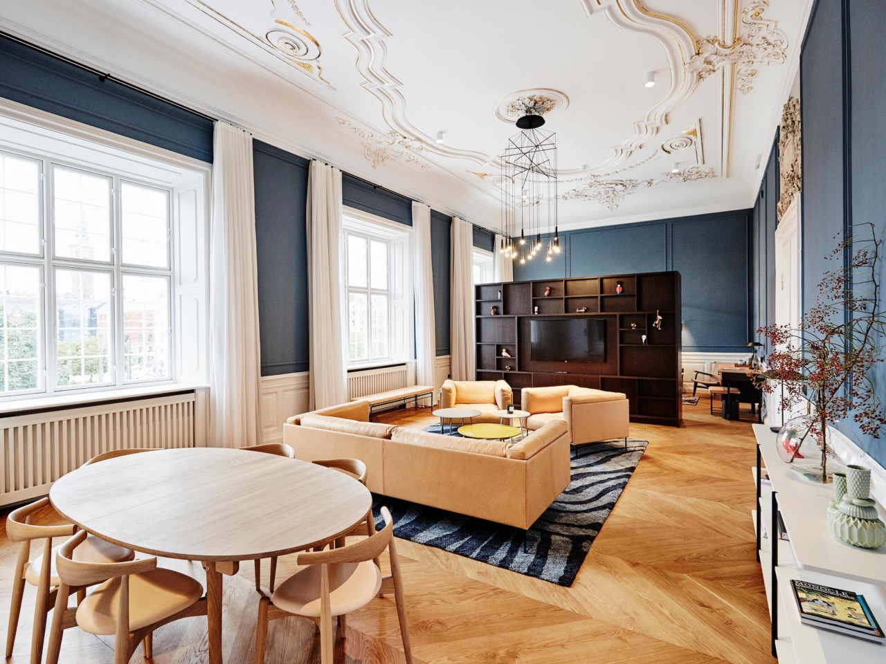 Contemporary Design Meets Classic Design At The Nobis Hotel Copenhagen  Design Milk