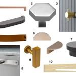 10 Modern Drawer Pulls And Cabinet Door Hardware