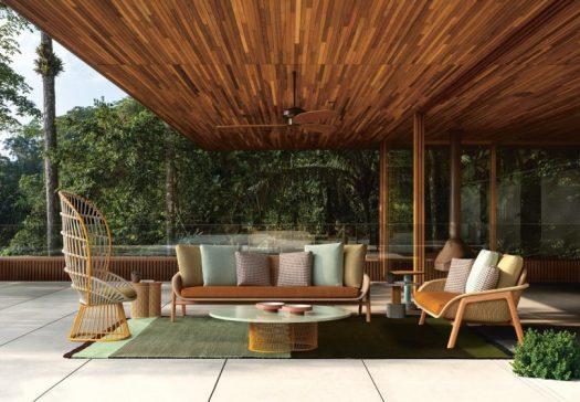 Kettal Releases the Patricia Urquiola Designed Vimini Collection