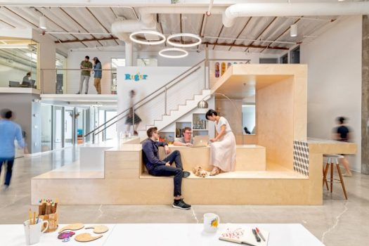A Los Angeles Warehouse Becomes Roger Animation Studio by CHA:COL