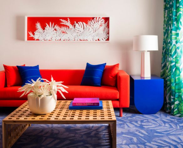 Hawaiian Hospitality Gets a Neon Makeover at the New Shoreline Hotel