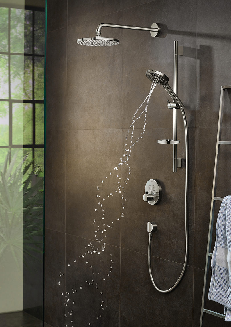 Indulge Yourself With Hansgrohe S Powderrain Showers