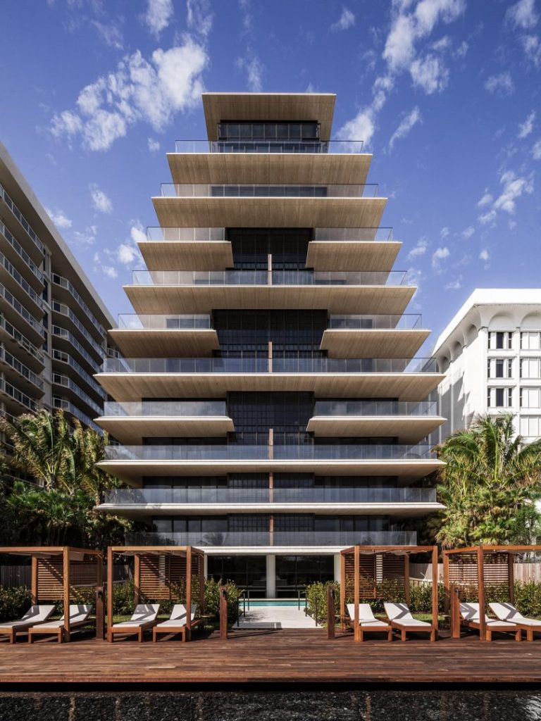 multifloor building exterior