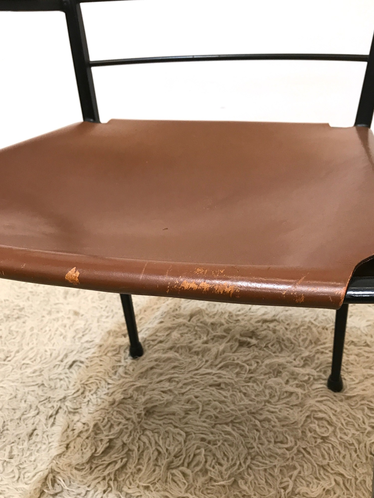 Metal And Leather Chair Staples Ladderax Metal And Leather Dining Chair Heals