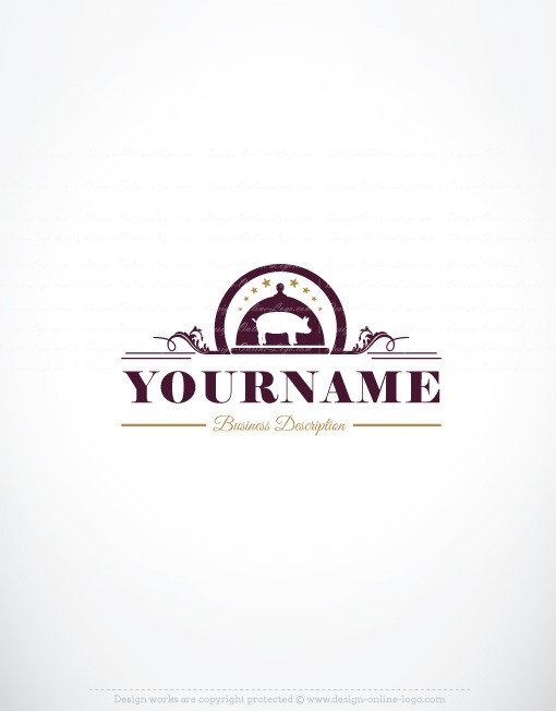 Exclusive Design: Meat Restaurant logo + FREE Business Card