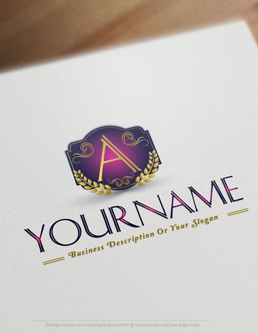 Buy Online Alphabet Logo Free Business Card