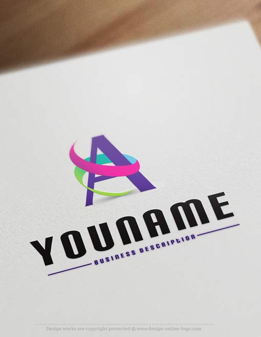 exclusive logo template alphabet