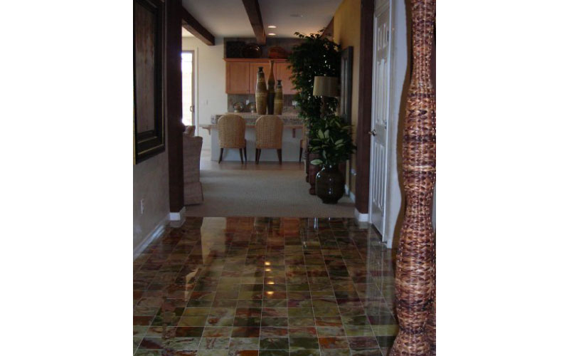 Residential-Stair-Mural-California-Modern-Design-Tribe-Online-Interior-Design