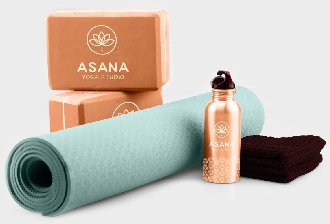 Asana Branded Collateral Branded Sportswear Aardwolf Graphic Design Services