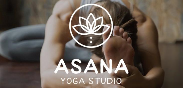 Asana Yoga Studio Logo Design from Aardwolf Design Studio Branding Identity Design