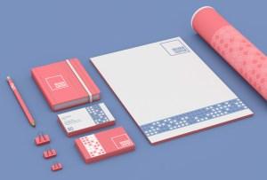 Hessen Center - Stationery - Branding - Logo - Graphic Design - Aardwolf Design