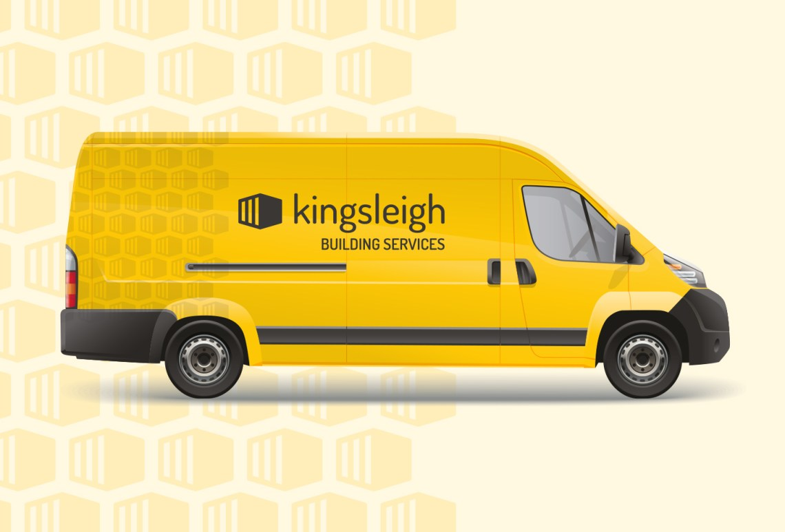 Kingsleigh Van - Aardwolf Graphic Design - Collateral Design - Vehicle Wrap