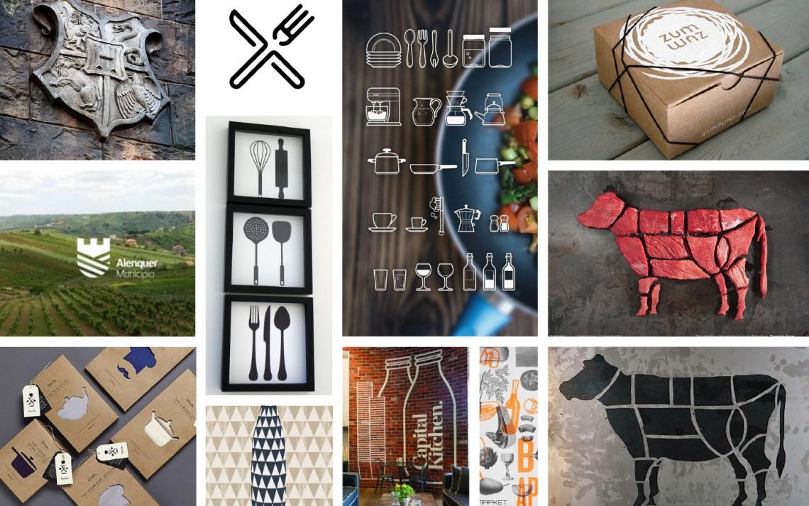 Schlossküche Branding - Moodboard Branding - Aardwolf Design