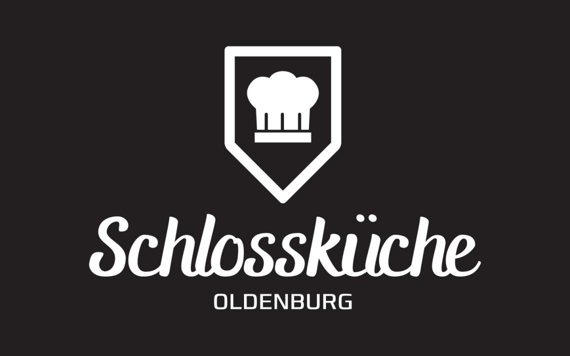 Schlossküche Logo (Black) - Aardwolf Design