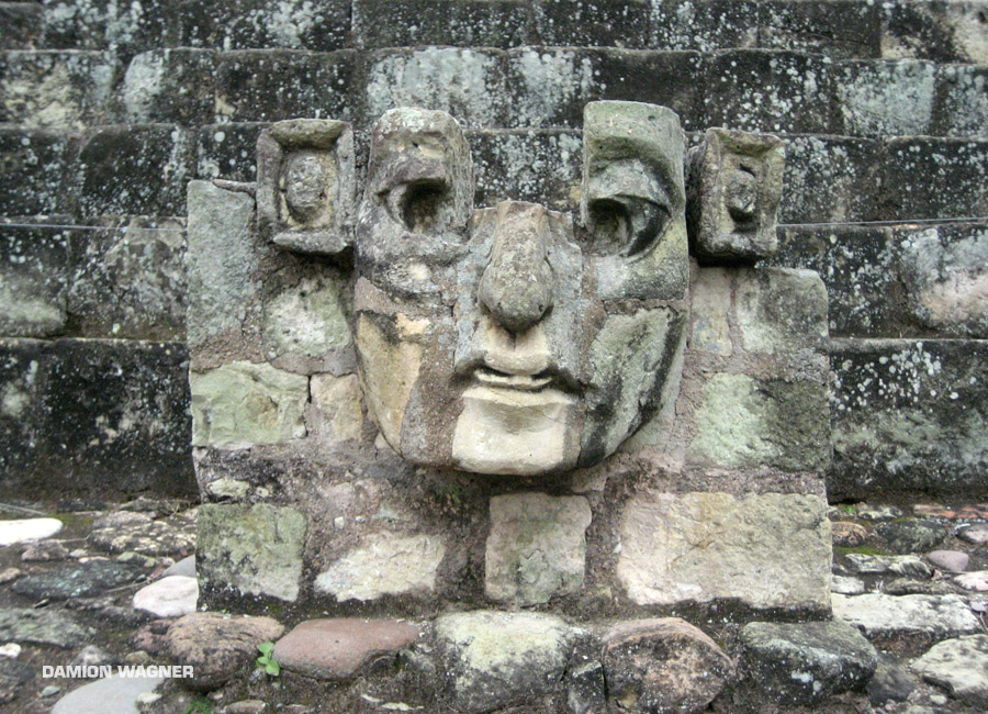 Copan Is Just Over The Border Guatemala