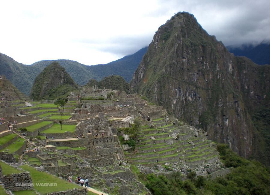 On Top Of The World You Find Machu Picchu Peru
