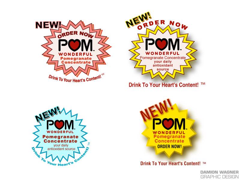 Pom Burst 4 Up