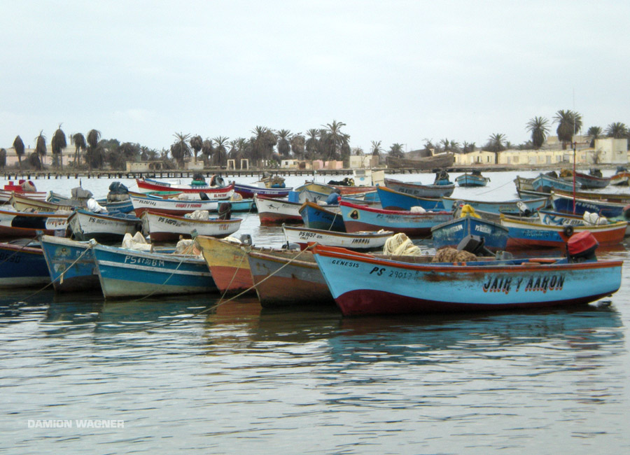 The Nazca Boats Peru