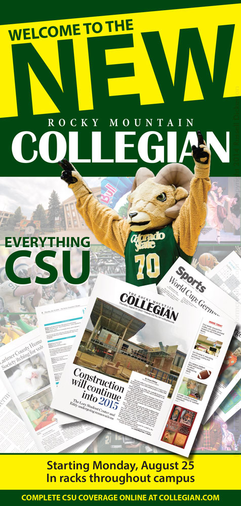 Collegian Full Page Ad