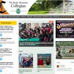 Website Design: Rocky Mountain Collegian