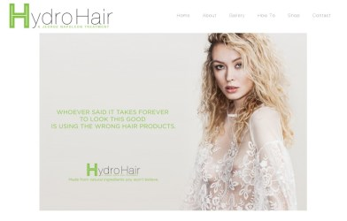 HydroHair (Website)