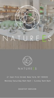 Naturees (Website)