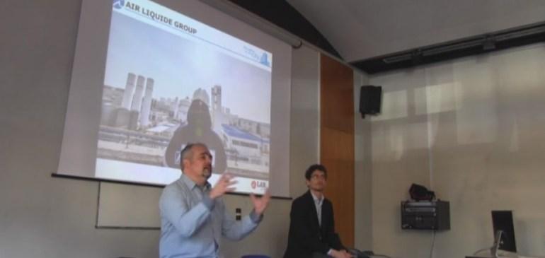 Bernard Lledos et Cyril Manscourt d'Air Liquide.