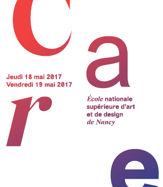 Programme du colloque Design et pensée du Care