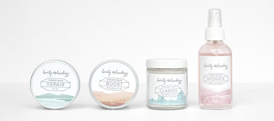 beauty archaeology products