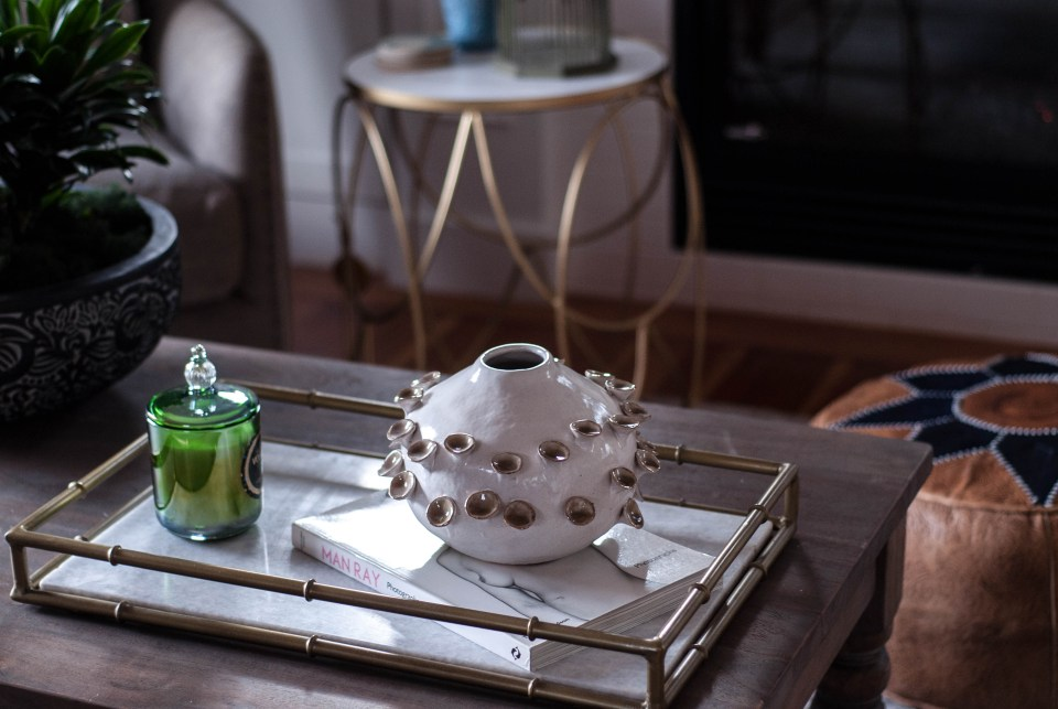 Interior Styling coffee table