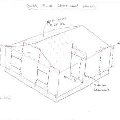 Gable Metal Roof Parts Diagram Light Switch Wiring Power At End And Interior Shearwalls Structural Engineering